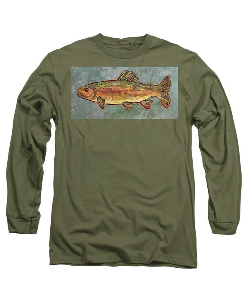 Teresa The Trout Long Sleeve T-Shirt