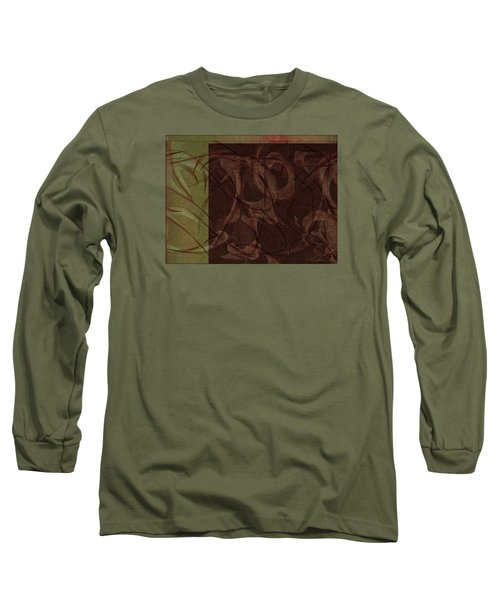Terpsichore Abstract Long Sleeve T-Shirt