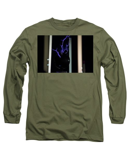 Tesla Coil 2 Long Sleeve T-Shirt