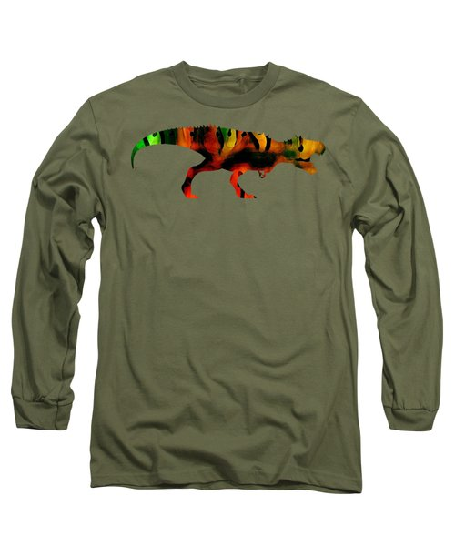 Tex The T-rex  Long Sleeve T-Shirt