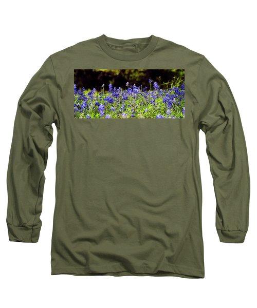 Texas Bluebonnets IIi Long Sleeve T-Shirt