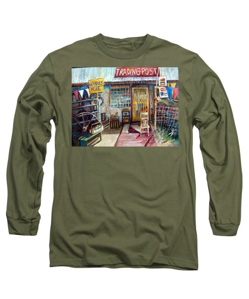 Texas Store Front Long Sleeve T-Shirt