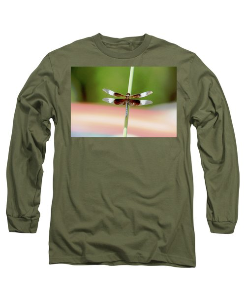 Texas Widow Skimmer - 10 Digitalart Long Sleeve T-Shirt