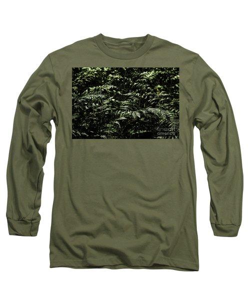 Textures Of A Rainforest Long Sleeve T-Shirt