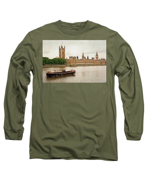 Long Sleeve T-Shirt featuring the photograph Thames by Keith Armstrong