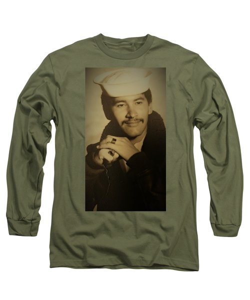 Long Sleeve T-Shirt featuring the photograph Thank You For Your Service by Paul SEQUENCE Ferguson sequence dot net