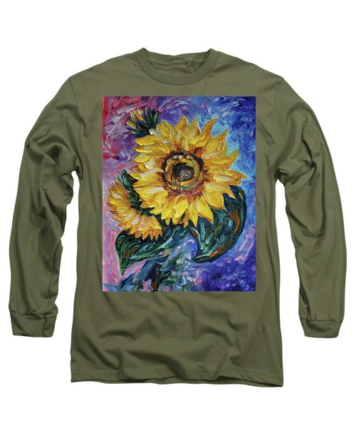 That Sunflower From The Sunflower State Long Sleeve T-Shirt