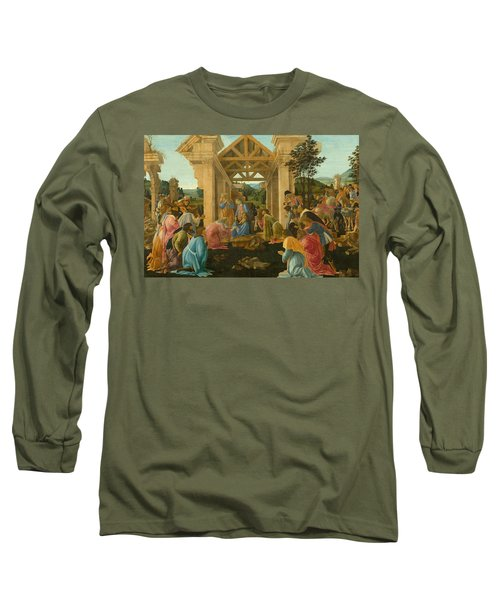 The Adoration Of The Magi Long Sleeve T-Shirt