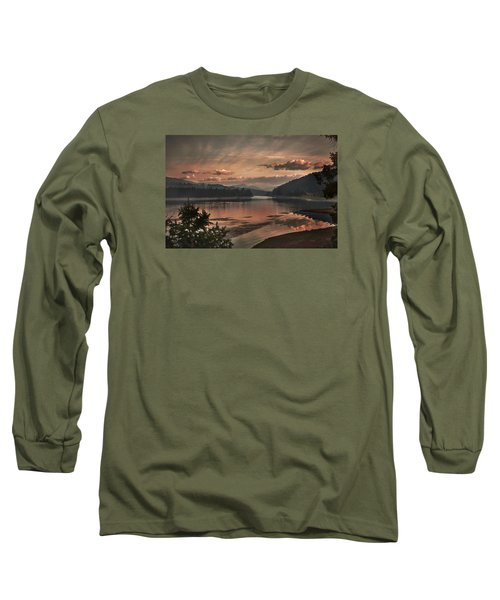 The Adventure Begins Long Sleeve T-Shirt by Loni Collins