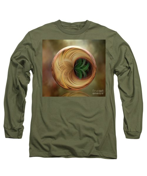 The Altar Orb Long Sleeve T-Shirt by Judy Wolinsky