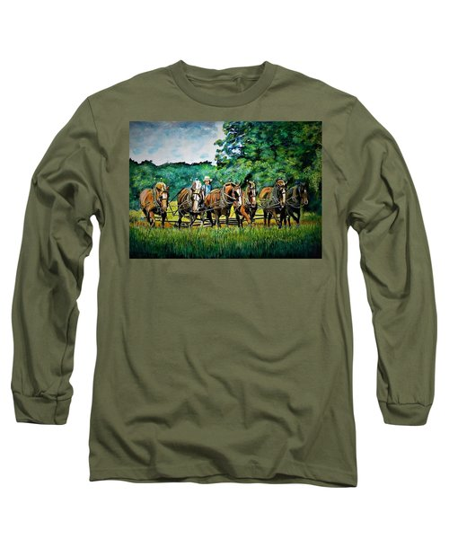 The Amish Team Long Sleeve T-Shirt