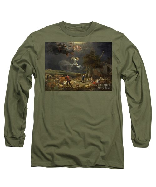 The Annunciation To The Shepherds Long Sleeve T-Shirt