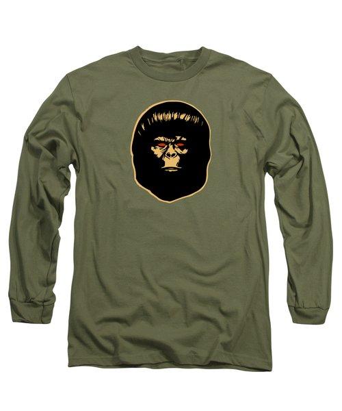 The Ape Long Sleeve T-Shirt by Jurgen Rivera