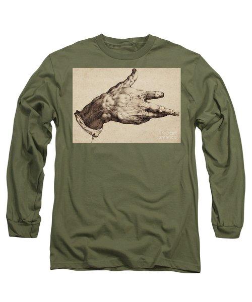 The Artist's Right Hand Long Sleeve T-Shirt