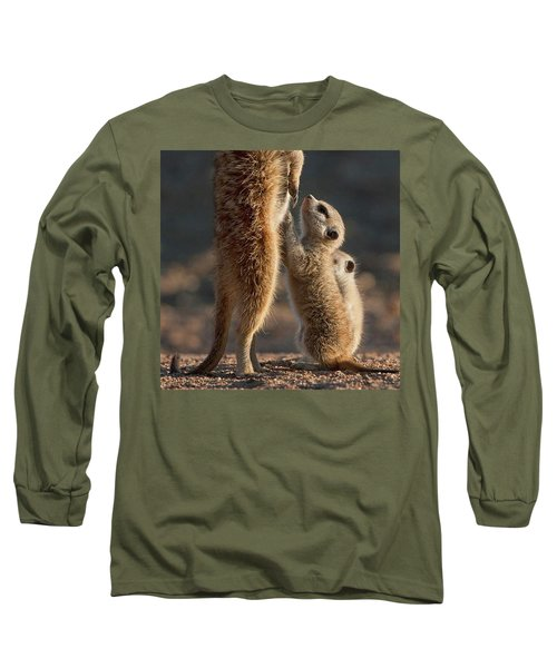 The Baby Is Hungry Long Sleeve T-Shirt by Happy Home Artistry