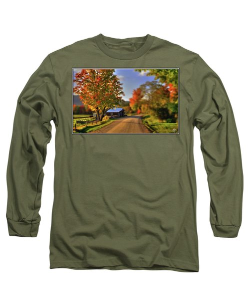 The Barn At The Bend Long Sleeve T-Shirt