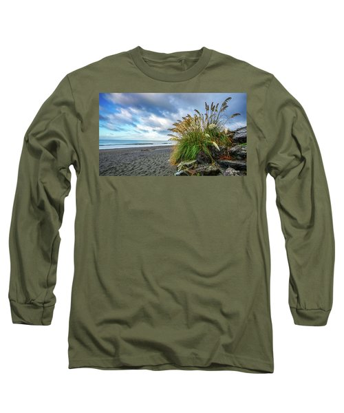 The Beach At Brookings Long Sleeve T-Shirt