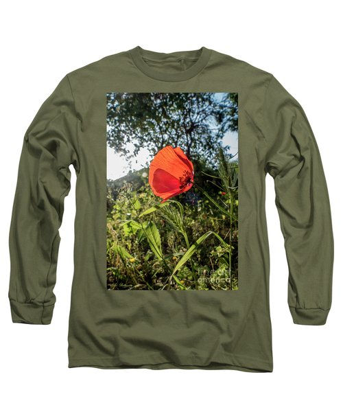 The Big Red Long Sleeve T-Shirt