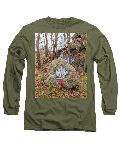 The Bird Long Sleeve T-Shirt by Brian MacLean