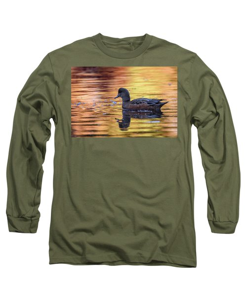 The Birds Of Autumn No. 4 Long Sleeve T-Shirt by Keith Boone