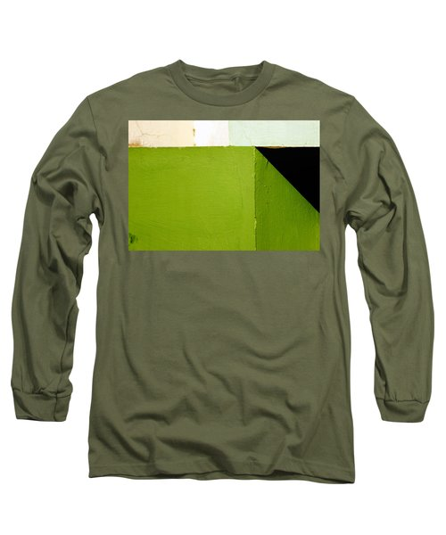 The Black Triangle Long Sleeve T-Shirt