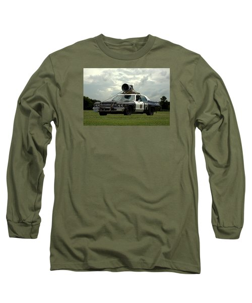 The Bluesmobile Long Sleeve T-Shirt by Tim McCullough