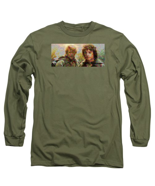 Long Sleeve T-Shirt featuring the photograph The Bonds Of Friendship by Mario Carini