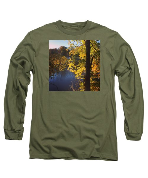 The Brilliance Of Nature Leaves Me Speechless Long Sleeve T-Shirt by Jason Nicholas
