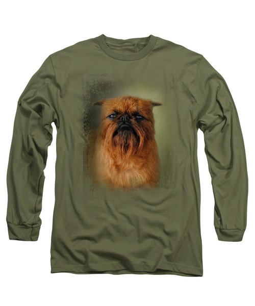 The Brussels Griffon Long Sleeve T-Shirt by Jai Johnson