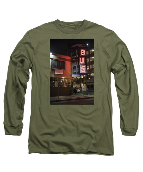 The Bus Stop Long Sleeve T-Shirt
