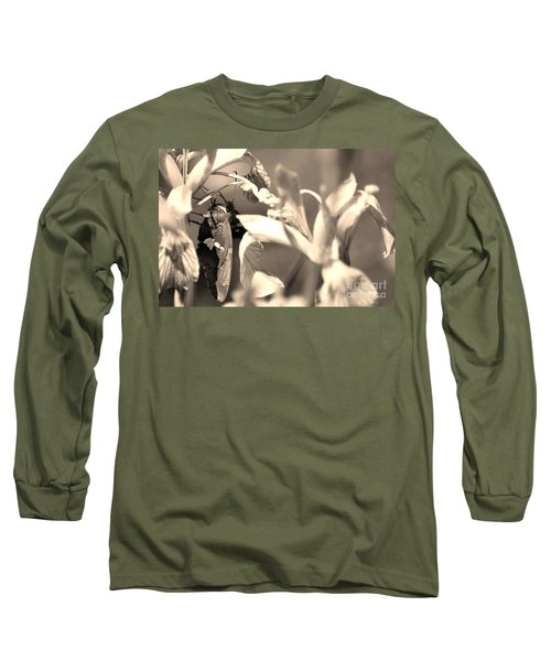 The Butterfly Long Sleeve T-Shirt by Donna Greene