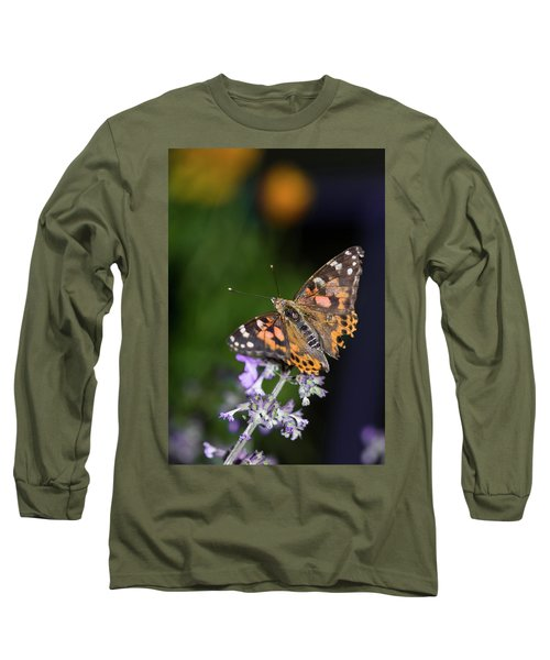 Long Sleeve T-Shirt featuring the photograph The Butterfly Effect by Alex Lapidus
