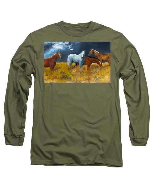 The Calm After The Storm Long Sleeve T-Shirt