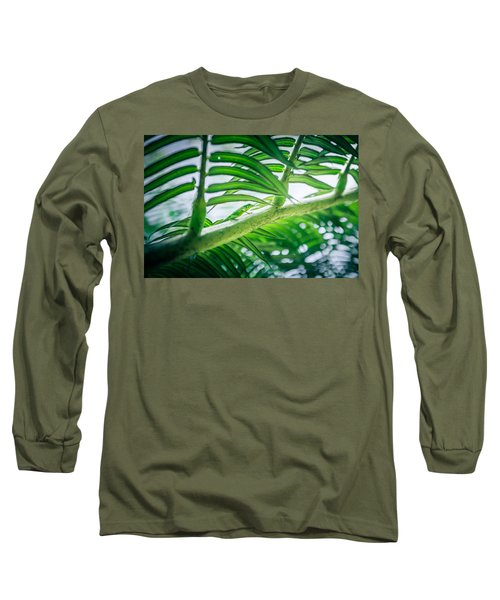 The Camouflaged Long Sleeve T-Shirt