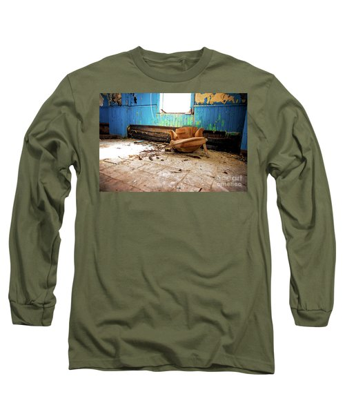 Long Sleeve T-Shirt featuring the photograph The Chair by Randall Cogle