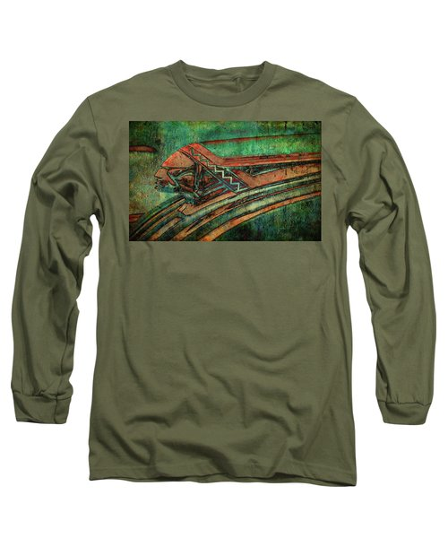 Long Sleeve T-Shirt featuring the digital art The Chief by Greg Sharpe