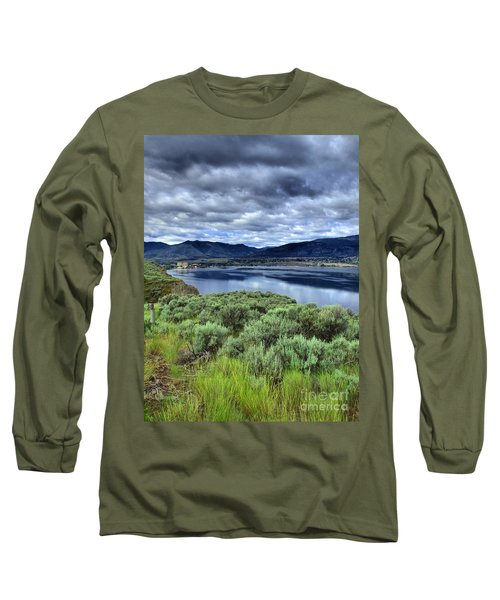 The City And The Clouds Long Sleeve T-Shirt