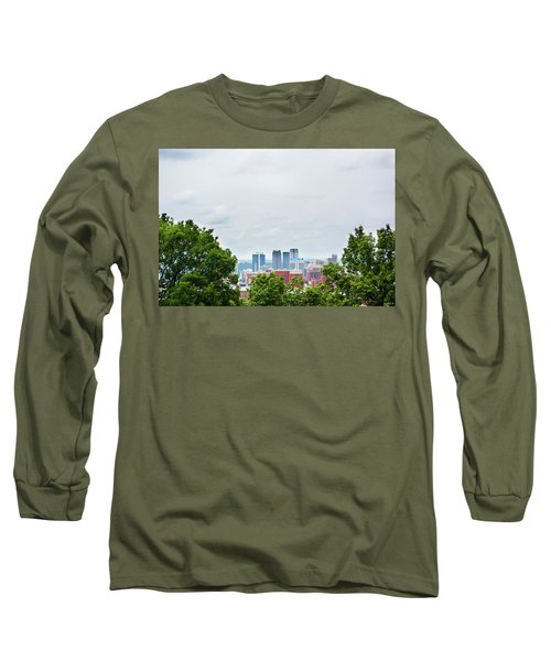 Long Sleeve T-Shirt featuring the photograph The City Beyond by Shelby Young