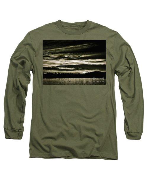 The Coast At Night Long Sleeve T-Shirt
