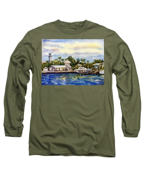 The Coast Of Nassau Long Sleeve T-Shirt