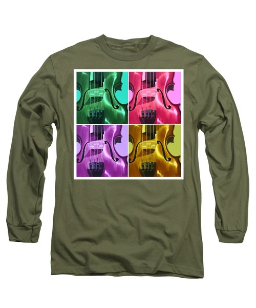 The Colors Of Sound Long Sleeve T-Shirt