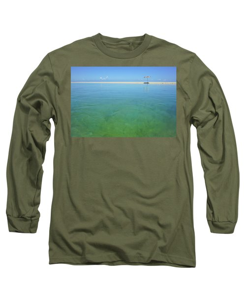 The Colours Of Paradise On A Summer Day Long Sleeve T-Shirt