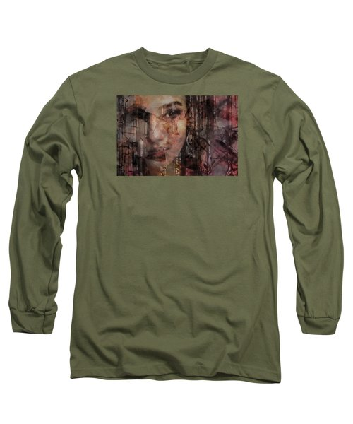 The Complexity Of Life Long Sleeve T-Shirt by Gun Legler