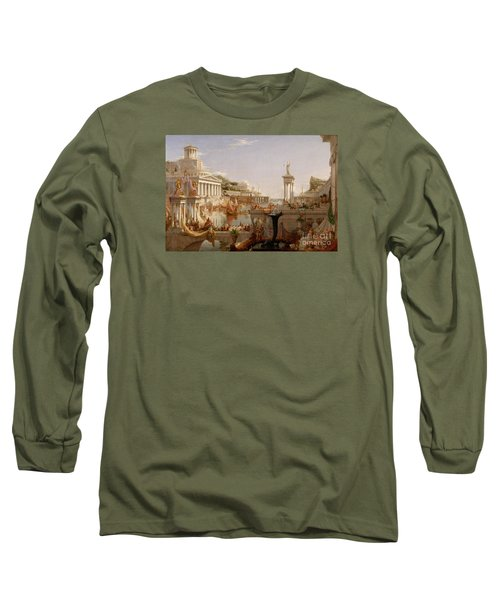 The Consummation The Course Of The Empire  Long Sleeve T-Shirt