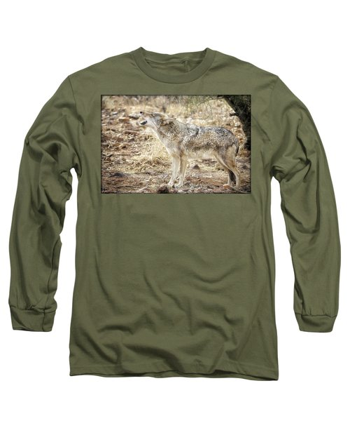 The Coyote Howl Long Sleeve T-Shirt