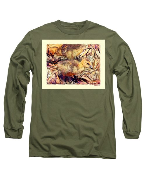 The Critic Long Sleeve T-Shirt by Ludwig Keck