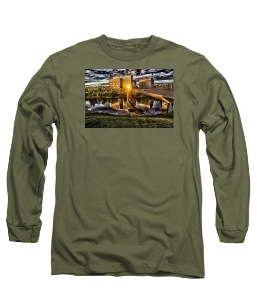 Long Sleeve T-Shirt featuring the photograph The Cross by Michael Rogers