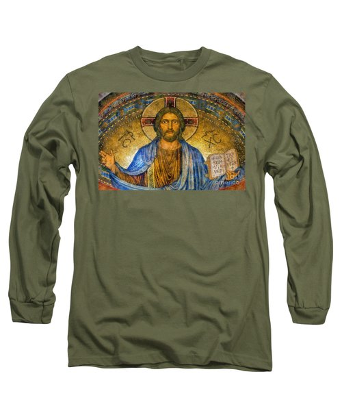 The Cross Of Christ Long Sleeve T-Shirt by Ian Mitchell