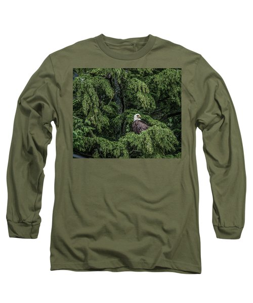 Long Sleeve T-Shirt featuring the photograph The Dark Eyed One by Timothy Latta