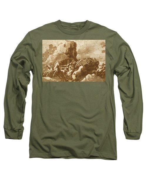 The Death Of Hippolytus Long Sleeve T-Shirt